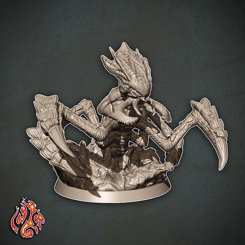 Ankheg Warrior, burrowed