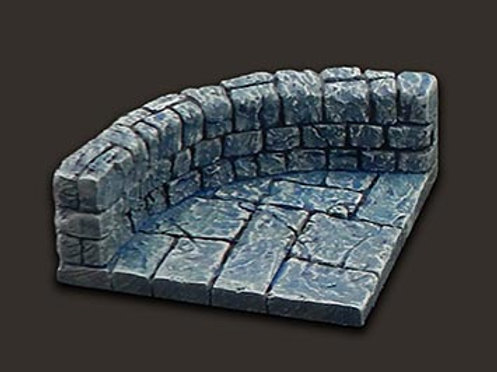Dungeon Tiles: Curved Wall