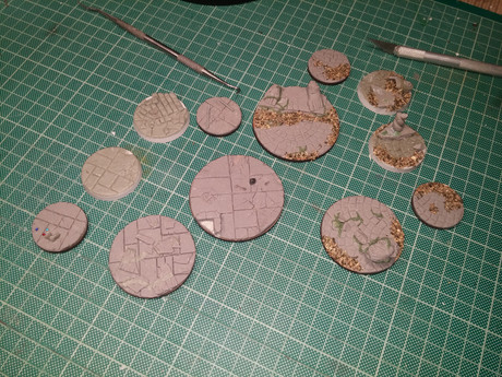 Upcoming Project: Miniature bases!