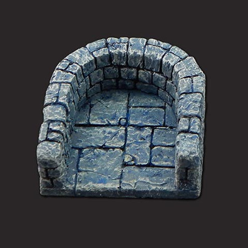 Dungeon Tiles: Semicircular Dead End