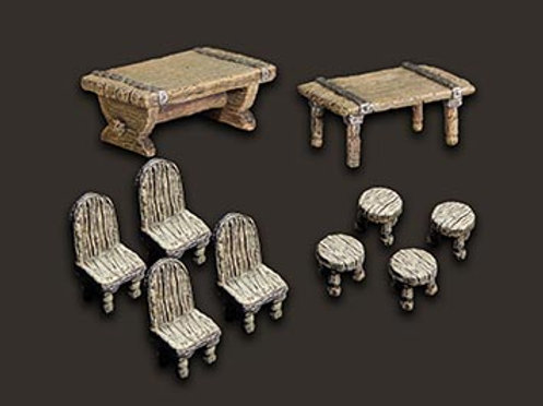 Dungeon Accessories: Chairs & Tables
