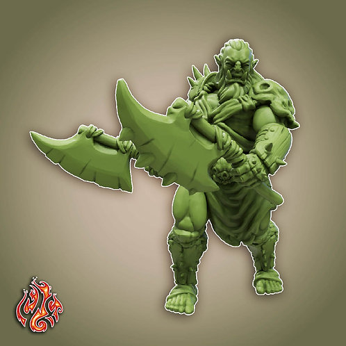 Savage Orc Berserker 2
