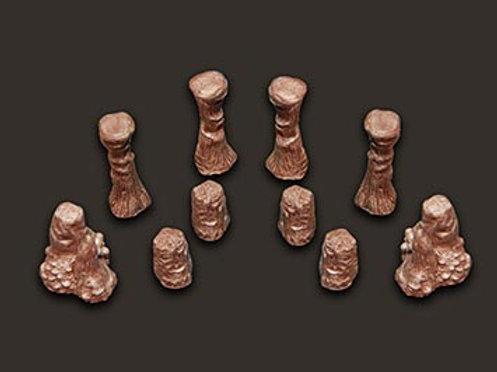 Cavern Accessories: Stalagmites set