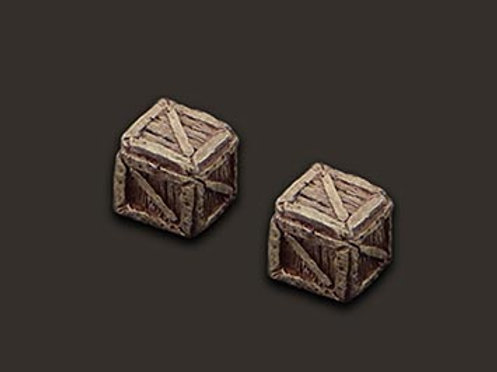 Small crates x2