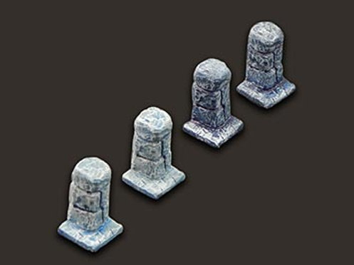 Small Pillars x4
