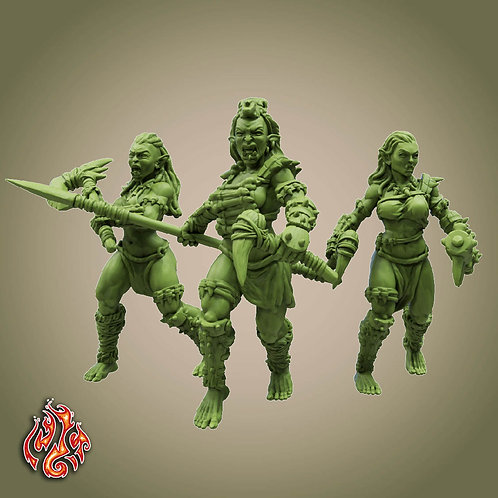 Savage Orc Marauders Pack