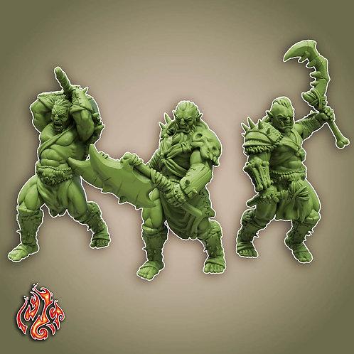 Savage Orc Berserkers Pack