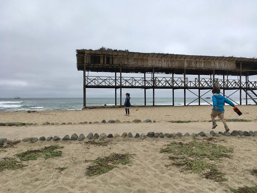 La pointe la plus à l'ouest du continent d'Amérique du sud : Salinas