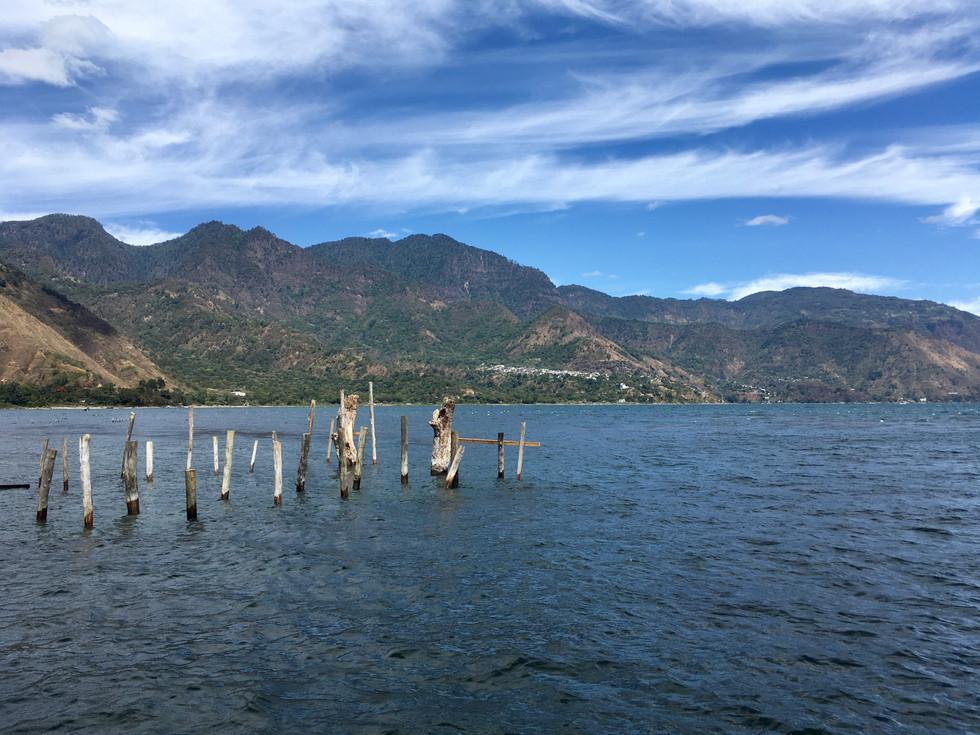 El lago Atitlan