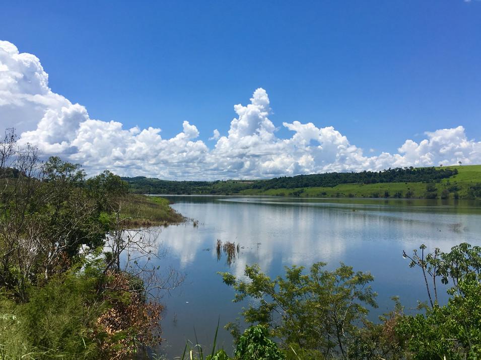 El rio Iguazu
