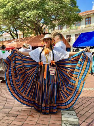 Les danses traditionnelles à Panama city