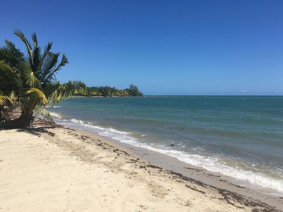 La plage de Placencia