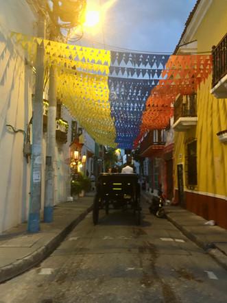 Les rues de Cartagena