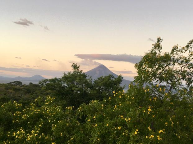 Le volcan Momotombo
