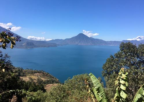 Vue sur le lac Atitlan