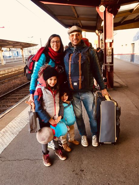 Gare d'Angers, direction Paris!