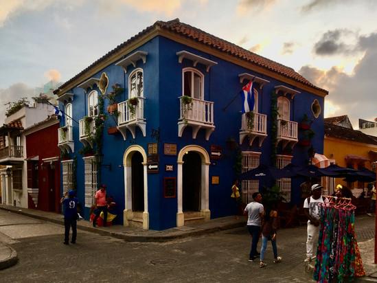 La vielle ville de Cartagena
