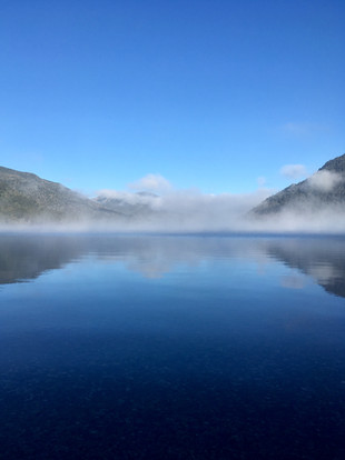Lago Hermoso au réveil