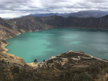 La laguna Quilotoa