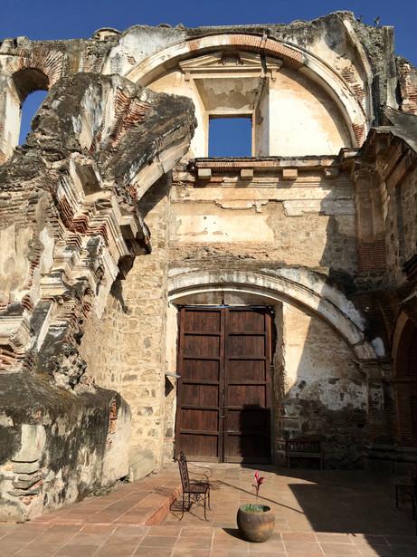 Ancien couvent à Antigua