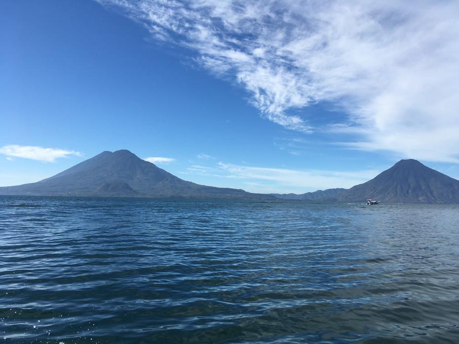 Vue sur le volcan San Pedro