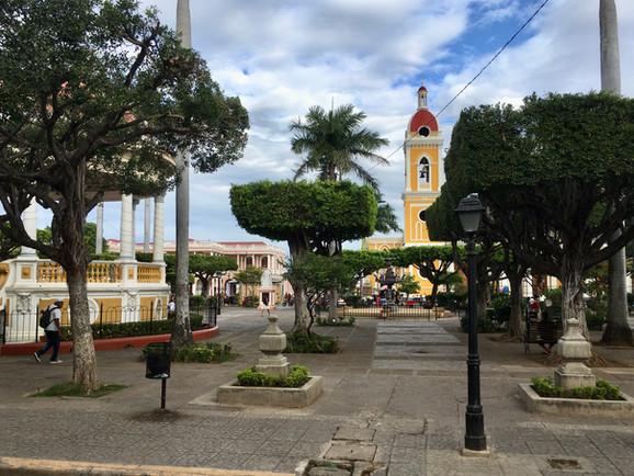 La place centrale de Granada