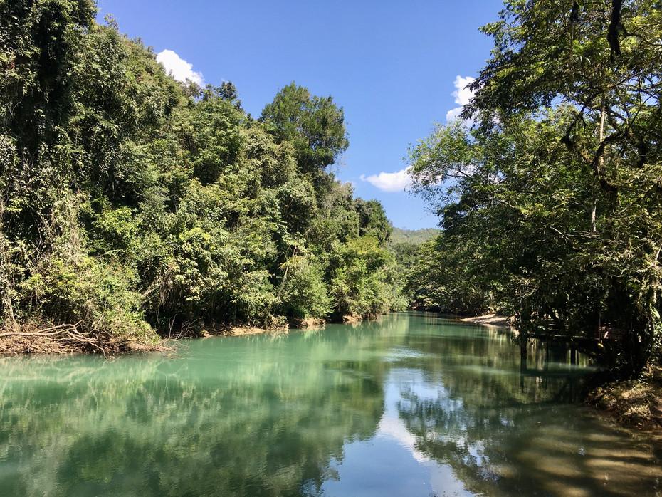 El rio Cahabon