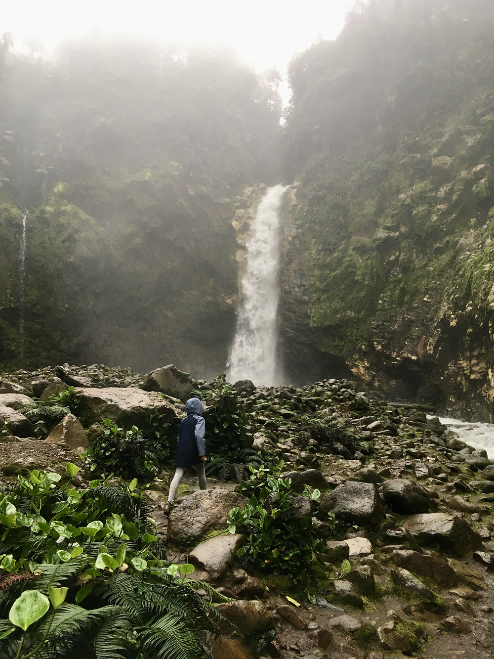 La cascade, Poza Azul