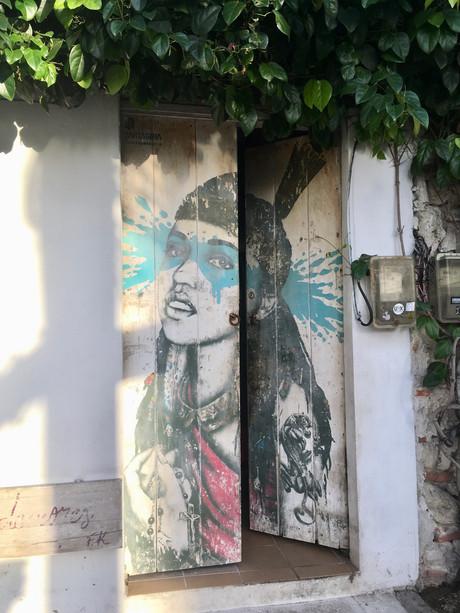 Les peintures du quartier Getsemani à Cartagena