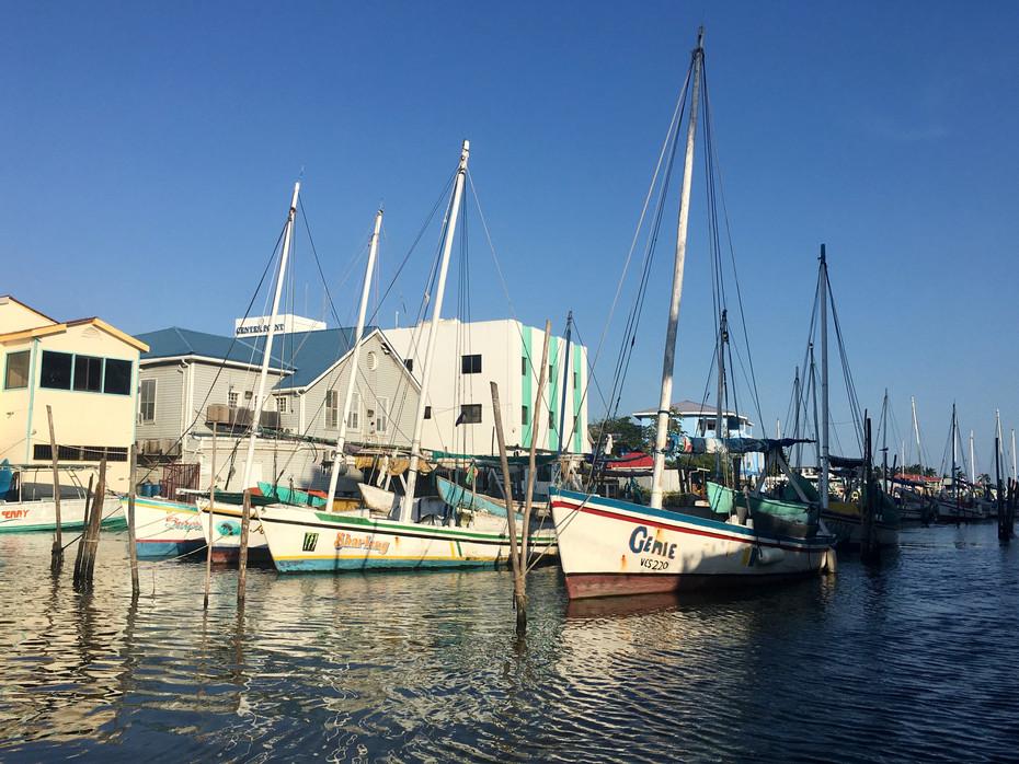 Le port de Belice City