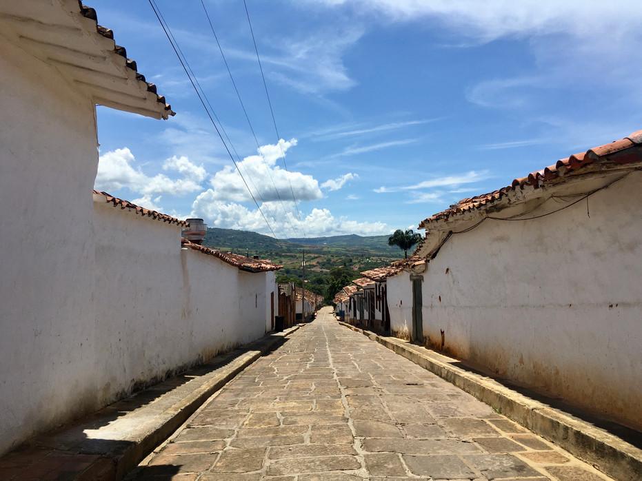 Les rues de Barichara