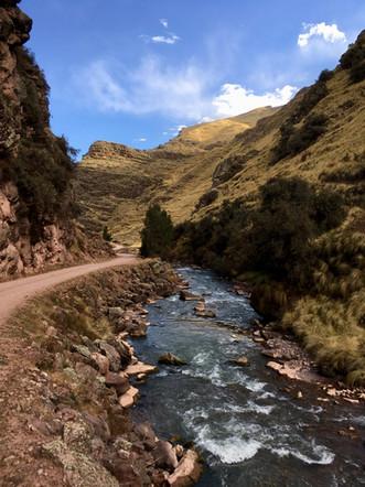Sur la route vers Pitumarca