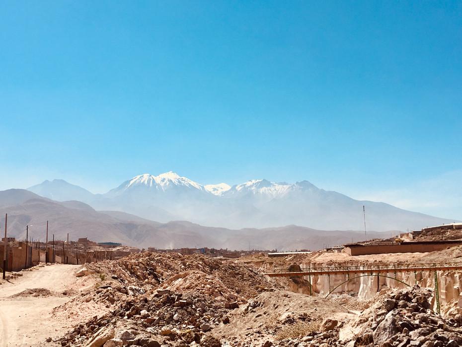El Chachani, volcan