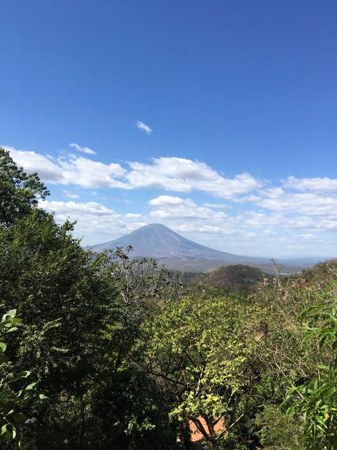 El volcan San Miguel