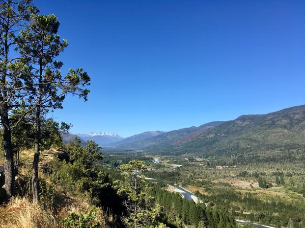Vue panoramique sur les Andes