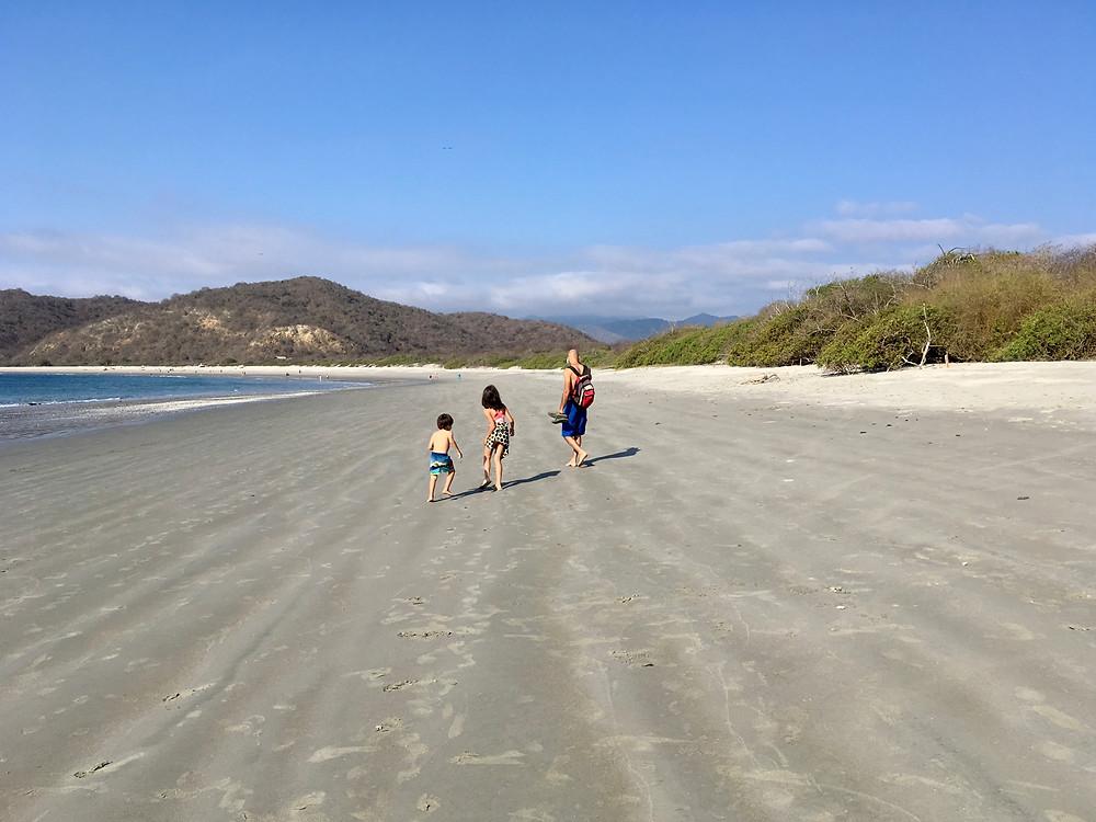 La plage paradisiaque de Los Frailes