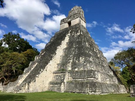 El templo del Gran Jaguar