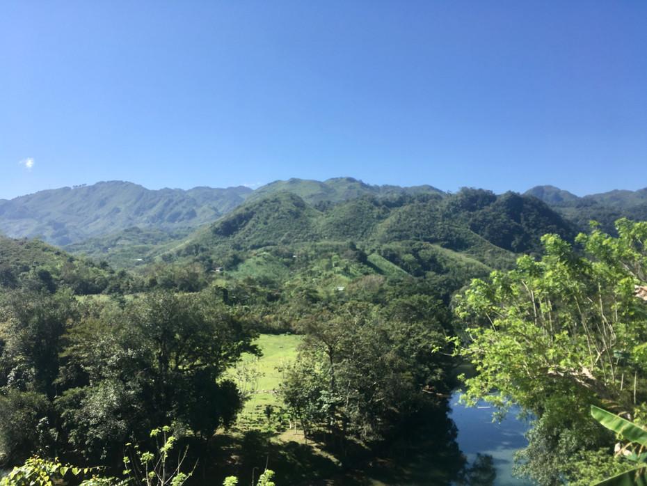Vue sur la Baja Verapaz