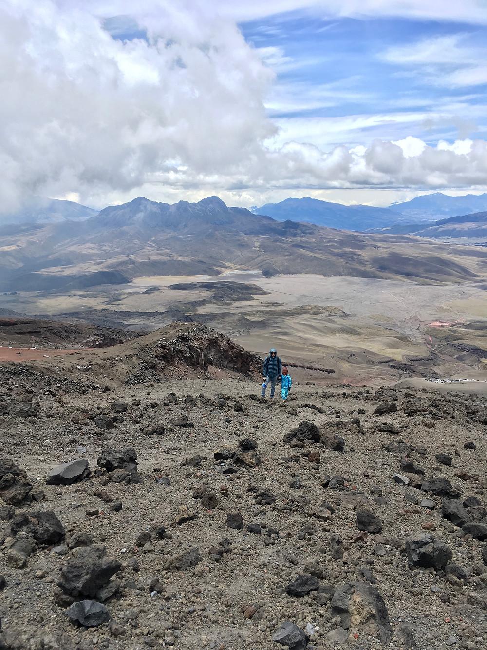 Ascension du Cotopaxi