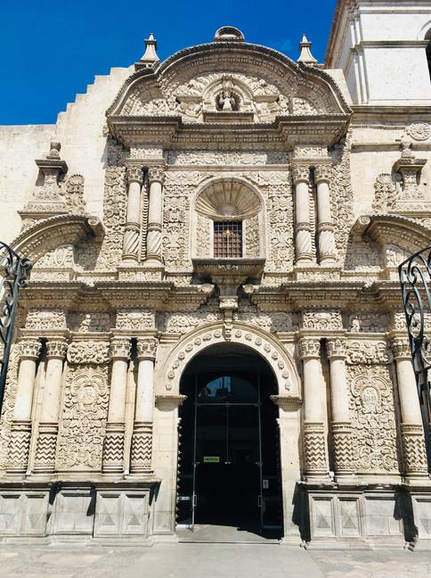 Arequipa, Iglesia de la Compania