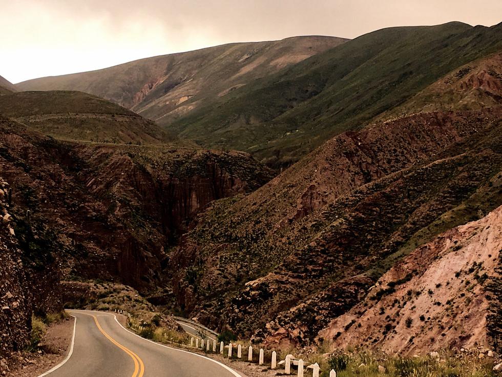 Après le passage de la frontière Chili/Argentine : le paso Jama, nos freins s'en souviennent encore...