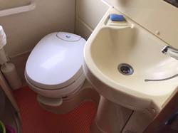 WC et lavabo