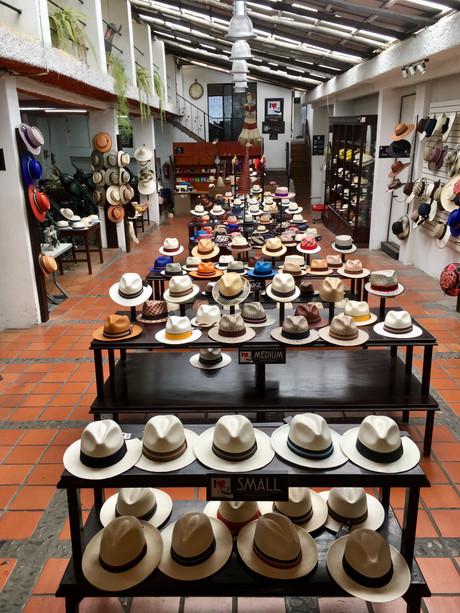 La fabrique à chapeau à Cuenca