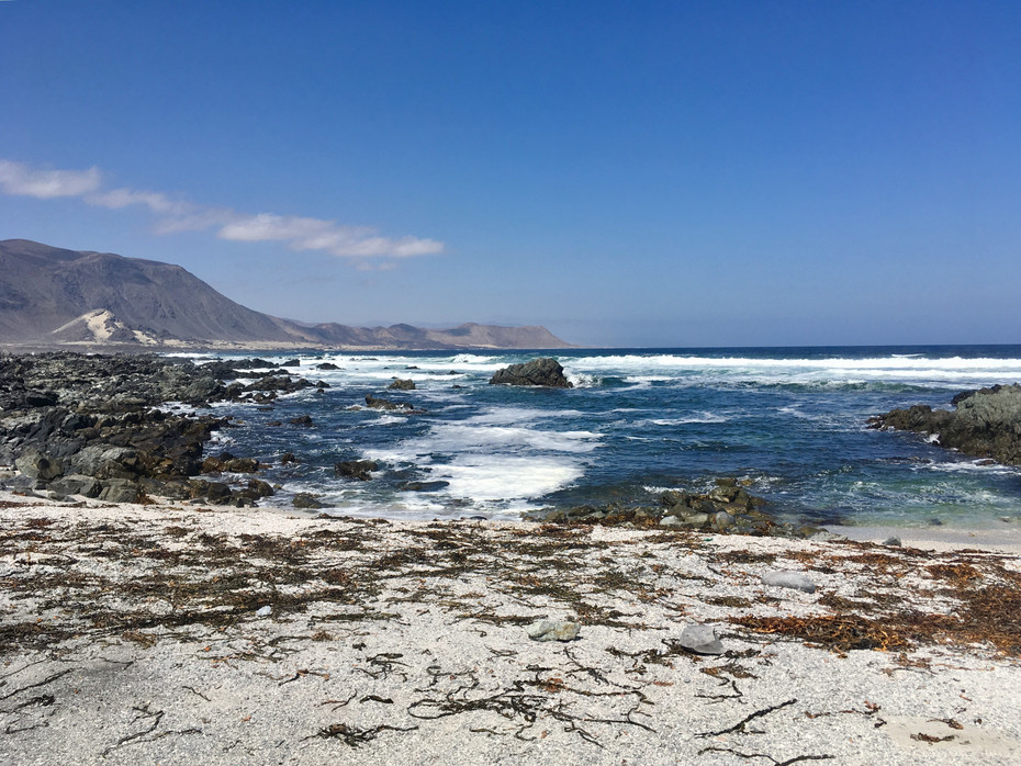 Le Pacifique, ses plages (et ses déchets...)