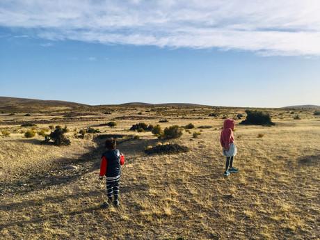 Emilio et Marilou affrontent le vent patagonien
