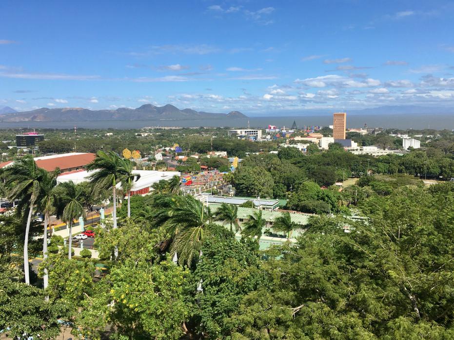 Vue sur Managua