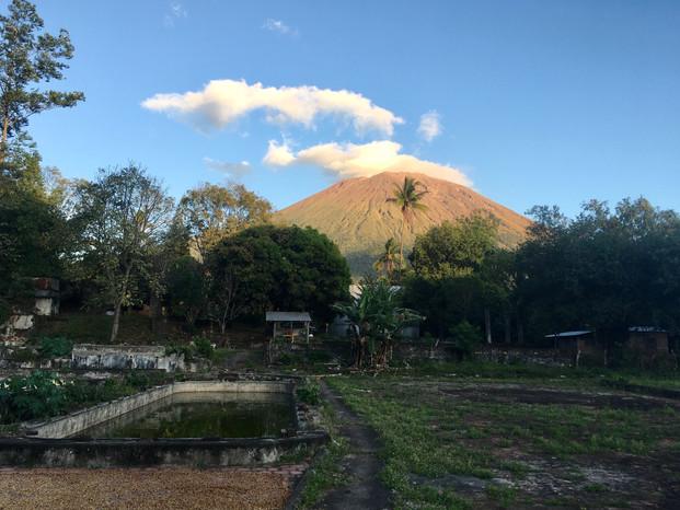 Vue sur le volcan San Miguel
