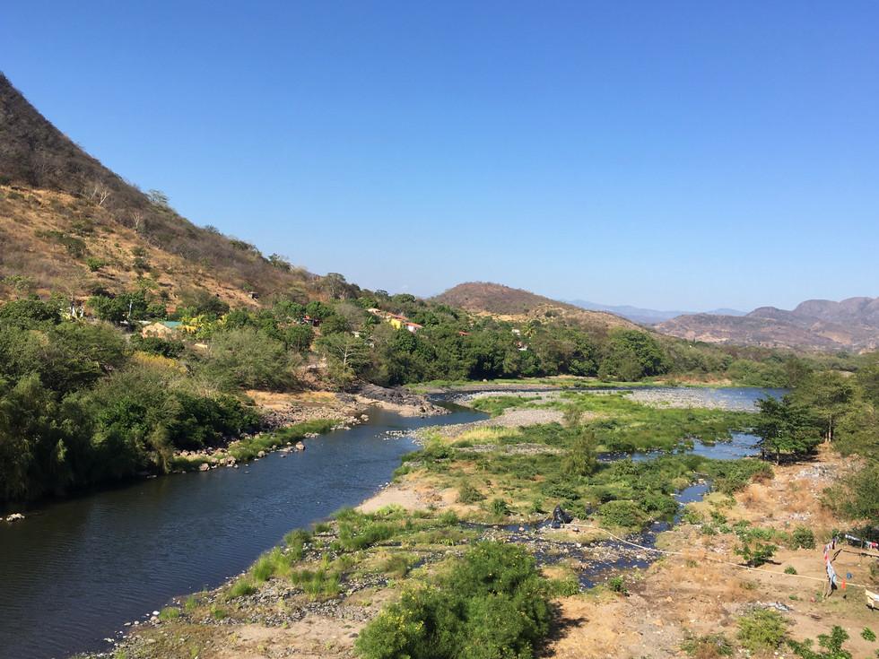 Rio Goascoran, El Amatillo