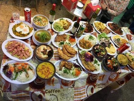 A Santiago, petite pause gastronomique