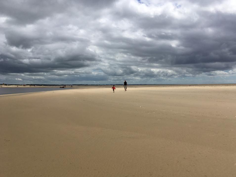 En route pour les dunes